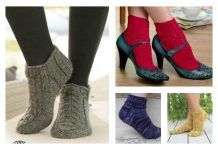 Free Knit Ankle Sock Patterns