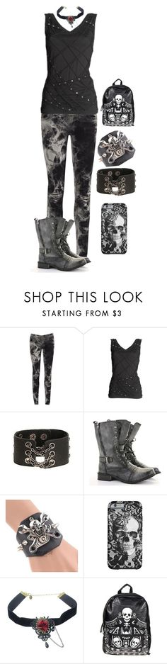 """""""Draft #10"""" by weird-witch ❤ liked on Polyvore featuring AX Paris, CO, Trend Cool and Loungefly"""