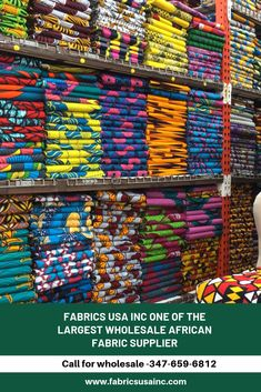 Fabrics USA Inc. one of the largest wholesale African Fabric supplier. We have been working with many of African…