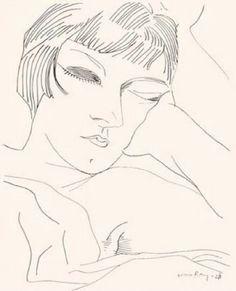 Man Ray. Kiki de Montparnasse,1922