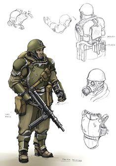 Polish Soldier by TugoDoomER.deviantart.com on @DeviantArt
