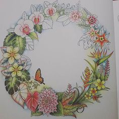 Almost finished ❤ Following the videos of @colorvscolour  #magicaljungle #secretgarden #johannabasford #jardimsecreto #jardimsecretotop #jardinsecreto #nossojardimsecreto #mijngeheimetuin #coloringforadults #polychromos #lostocean #enchantedforest #kleurenvoorvolwassenen #kleuren #fabercastell #colorindolivrostop #mycolorfulmoment #florestaencantada #jardimsecretofans