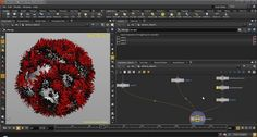 Creating a disintegration effect in Houdini using an animated noise map.