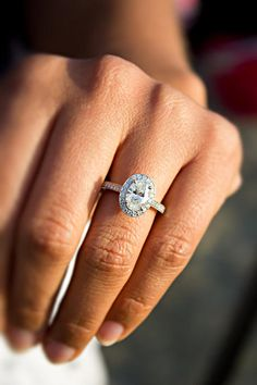 Diamond oval this is very similar to my ring... i know im getting it, just dont know when...God I love him!!