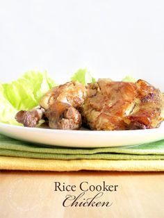 Rice Cooker Chicken