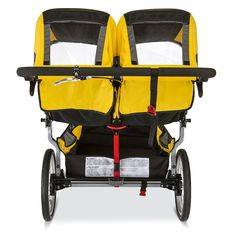 Amazon.com : BOB 2016 Ironman Duallie Jogging Stroller, Yellow : Baby Baby Doll Strollers, Best Baby Strollers, Double Strollers, Jogging Stroller, Pram Stroller, Twin Pram, Best Prams, Best Lightweight Stroller, Childrens Luggage