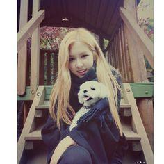 BLACKPINK 블랙핑크 Rosé ❤ 로제 with Dalgom  #cute