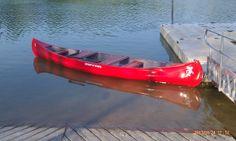 an old canoe brought back to life!