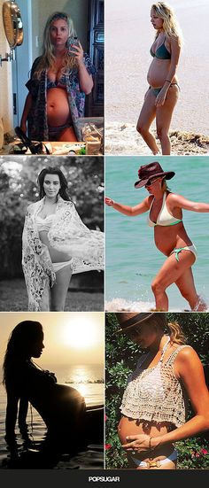 28 Celeb Moms Who've Rocked a Bikini While Pregnant