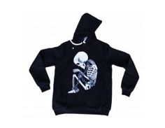 Hanorac Crazy model Skull dk 008