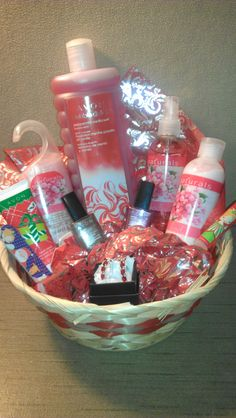 $30 - Deluxe Holiday Gift Basket - Includes large peppermint vanilla bubble bath, new Winter Berry Naturals body lotion, body spray and shower gel, a pair of ruby-look and silvertone earrings, one holiday hand lotion, one holiday lip balm, a holiday nail file and two sparkly holiday nail polishes.  Call/text 248-880-7392 or send an email to GetYourAvonToday@Yahoo.com to order or for any questions.    stephaniedalrymple.avonrepresentative.com