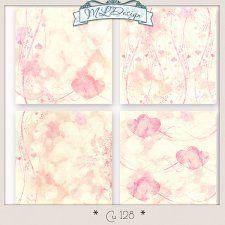 Cu set 128 Vintage Valentine Papers by MLDesign #CUdigitals cudigitals.com cu commercial digital scrap #digiscrap scrapbook graphics