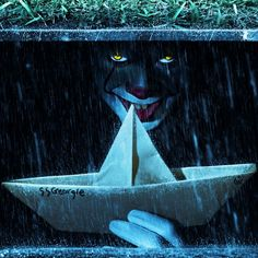Pennywise the Dancing Clown hiding in the sewer it IT Movie Nightmare on Film Street - Horror Movie Podcast, H… in 202 Clown Pennywise, Pennywise The Dancing Clown, Pennywise Sewer, Pennywise Film, Horror Movie Characters, Horror Movies, Tumblr Roses, Le Clown, It The Clown