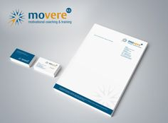 Corporate Design Movere Motivational Coaching. © wirkraum