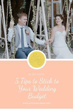 5 Tips to Stick to Your Wedding Budget Wedding Goals, Wedding Tips, Wedding Vendors, Wedding Details, Free Wedding, Budget Wedding, On Your Wedding Day, Wedding Planner, Wedding Cake Maker