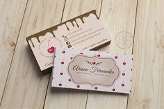 Cartão de Visita Ariane Fernandes Doceria Gourmet