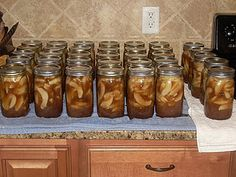Canning: Apple Pie Filling