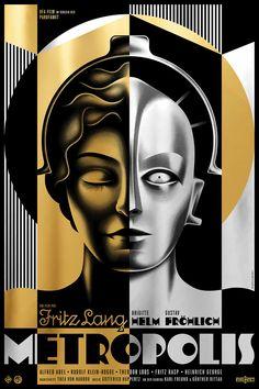 Metropolis Film Poster on Behance