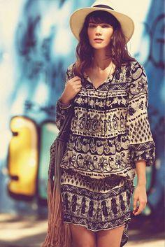 bohemian fashion tumblr | ... boho, people, dress, fashion, hippie, love, peace, style, summer, boho: