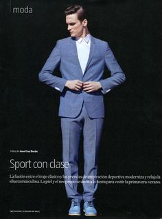 Chic Sporty Looks: Alejandro Rodriguez for La Vanguardia  image alejandro rodriguez photo 001