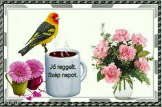 Coffee Pictures, Mugs, Good Morning, Tumblers, Mug, Cups