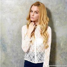 Autumn Romantic Lace Retro Shirt