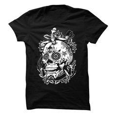 I love sugar skulls T Shirts, Hoodies. Check price ==► https://www.sunfrog.com/LifeStyle/I-love-skulls.html?41382
