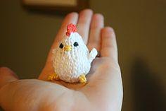 SPRING CHICKEN PATTERN, crochet tutorial