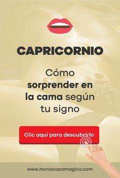 ♥ CAPRICORNIO, haz clic en la imagen para saber tu compatibilidad en la CAMA con otros signos #signoszodiaco #cama #horoscopomagico #horoscopo #compatibilidadaenlacama #capricornio