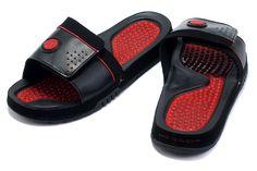 95a33dc58e7608 Air Jordan 9 Men Slippers Black Red Sale   87.90 Air Jordan 9