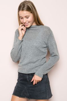 Brandy ♥ Melville | Bennett Turtleneck Sweater - Sweaters - Clothing