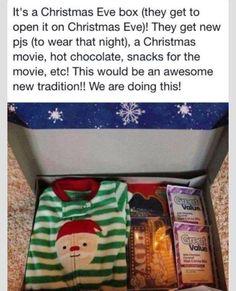 Christmas tradition - so cute