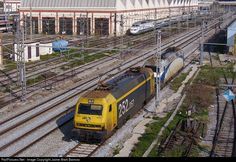 RailPictures.Net Photo: 252-057 Renfe 252 at Barcelona, Spain by Jaime Marti Barroso