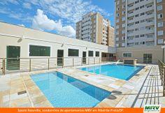 Paisagismo do Reauville. Condomínio fechado de apartamentos localizado em Ribeirão Preto / SP.