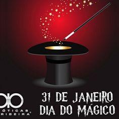 31 de janeiro - Hoje é o Dia do mágico, parabéns!  https://plus.google.com/110606446956149039003/posts/fxsmPedNYPw