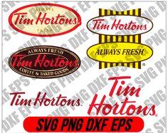 Tim Hortons Coffee, Logo Branding, Logos, Cutting Files, Cricut, Silhouette, Snowman Crafts, Logo, Create A Critter