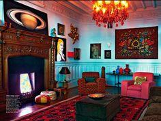 Boho design ideas, bohemian style bedrooms boho bedroom ...
