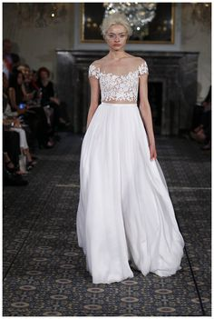 Wedding dress from the Mira Zwillinger 2016 Stardust Collection.