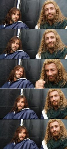 Aidan Turner & Dean O'Gorman my loves I can't