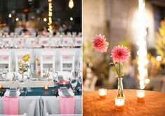 Industrial, modern Hudson Valley fall wedding | Photo by Lisa Berry | Read more - http://www.100layercake.com/blog/?p=76472