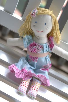 Welcome to Quaint and Quirky's rag doll tutorial! This tutorial is a mixture of tips and techniques I found and acquired when attempting to...