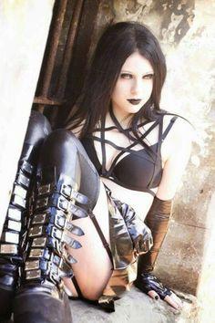 Glam Goth ~ SchoolGirl❤Tart