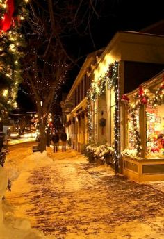 倫☜♥☞倫 Christmas in Ogunquit, Maine, U.S ...♡♥♡♥♡♥Love it