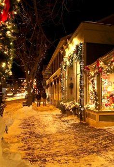 Christmas in Ogunquit, Maine, U.S
