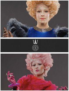 Effie looking quite posh in this Capitol couture!