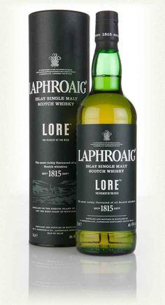 Laphroaig Lore - smoky bacon bits like the Ardbeg 10 without the harsh bite