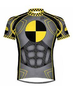 Primal Wear Crash Test Dummy Cycling Jersey Men s Short Sleeve with DeFeet  Socks 66b95a884