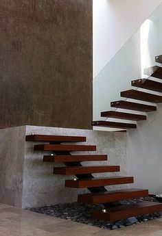 Yes to this staircase! Would absolutely need to be in a modern clean ...