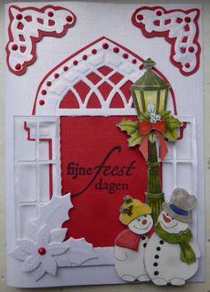 kerst Christmas Tag, Handmade Christmas, Sympathy Cards, Felt Ornaments, Advent Calendar, Snowman, Card Ideas, Holiday Decor, Cards