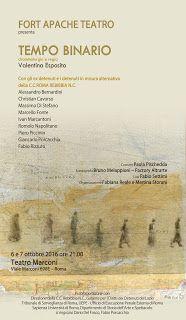 Claudia Grohovaz: TEMPO BINARIO - 6 e 7 ottobre Teatro Marconi